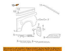 TOYOTA OEM Rear Bumper-Bumper Cover Clip 90467A0008
