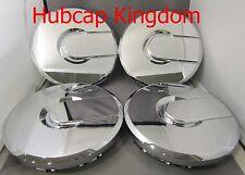 NEW CHROME 2003-2008 HUMMER II H2 Wheel Center Cap Hubcap AM SET