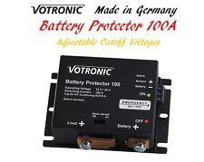 Votronic 12V and 24V Battery Protector Cutoff Voltage Adjustable 100A LVD