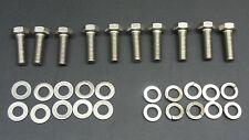 FORD 6.8 LITER V10 STAINLESS EXHAUST MANIFOLD BOLTS  *FITS ANY V10*
