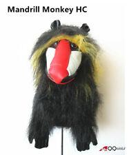 A99 Golf Animal Wood Headcover Mandrill Monkey Head Cover