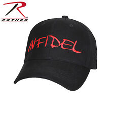 Rothco 9814 Infidel Deluxe Low Profile Cap - Black