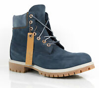Timberland Men's 6 Inch Premium Limited Blue Waterproof Boots A1UKS size 10 M