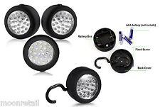 24 LED DA APPENDERE Torcia Portatile Lavoro Luce magnetica ultra brillanti per Campeggio Tenda Gancio