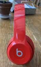 Beats by Dr. Dre Solo Pro More Matte Collection Wireless Headphones Red