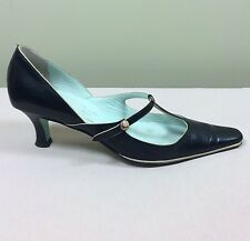 PAUL SMITH Emma Hope Damen Schuhe Pumps Gr 38 Vintage T Strap Tanz 20ies Party
