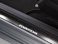 6 x Mazda Aufkleber für Einstiegsleisten 626 Mazda6 CX7 RX8 Xedos Emblem Logo