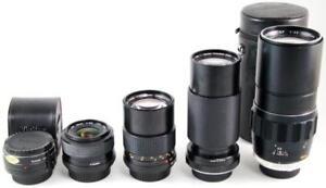 Minolta Macro Lens Teleconverter 135mm 200mm 35-70mm 70-210mm 28mm Telephoto QF