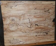 Black Line Spalted Maple Wood 10802 Luthier 5A Guitar Top Set 23.5x 19 x .375
