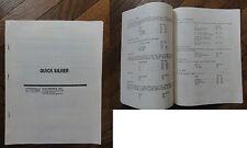 Flipper Stern Quicksilver 1978 manual