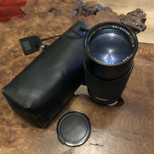 Tokina Japan 80-200mm 1:4.5  C/FD Lens 55 Canon ? Used But Good