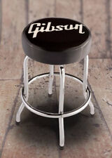 "New 24"" Gibson Bar Stool Acoustic Electric Bass Guitar Amp Amplifier BarStool"