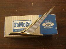 NOS OEM Ford 1961 Falcon Fender Emblem Ornament Trim Badge Sprint Futura