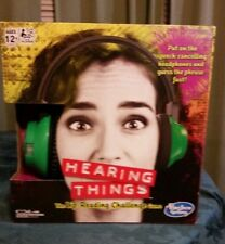 Hearing Things Hasbro Gaming The Lip Reading Game 4-8 players ages 12+ 2016 MIB