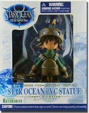 STAR OCEAN PVC STATUE: ROGER S HUXLEY Action Figure 12 CM NUOVA KOTOBUKIYA
