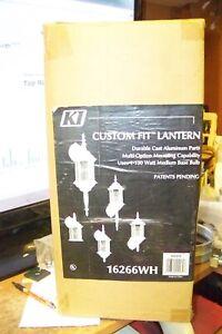 16266 Kenroy Outdoor Lantern Light ~ white