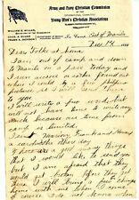 1898 Philippine-American War Letters (2) Chas Durham NE Vol Natives & Camp