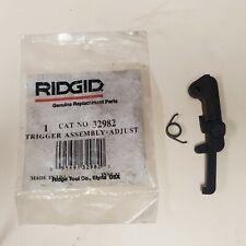 Ridgid Model 1822 I Trigger Assembly Adjust 32982