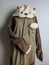 Sea Otter Unisex Adult Pajamas Kigurumi Cosplay Party Costume Animal Onesis