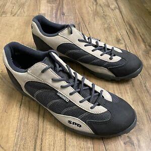 Shimano SPD Mountain Bike Shoes With Cleats Men's 11.5