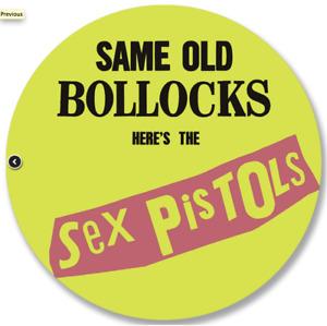 SEX PISTOLS Same Old Bollocks (Picture Disc)
