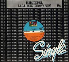 """FANTASTIC FOUR b.y.o.f.  (bring your own funk)/sexy lady LV 14 uk 12"""" PS VG/EX"""