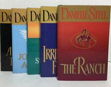 Lot of 5 Danielle Steel Romance Novels Hardback Books with Dustjacket
