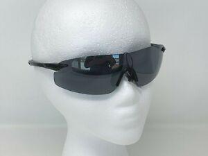 Performance Elite Leadout Anti-fog lens and no-slip nose grip eyewear Black