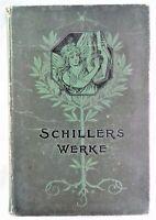 🗝️  Antik - 1904 - Schillers Werke - DVA, hrsg. von Fischer