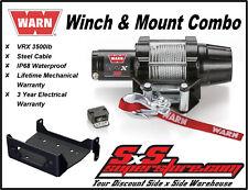 Warn ATV Vantage 2000lb Winch w//Mount 2008-current Kubota RTV500