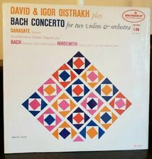 OISTRAKH David & Igor play Bach Concerto for 2 Violins MONITOR MC 2009 Vinyl Lp