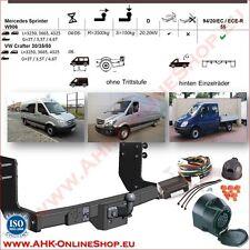 AHK MB Sprinter ab 2006 Bus Kasten Anhängerkupplung ES7 Einparkhilfe Abschaltung