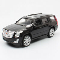Kids 1:36 Scale Cadillac Escalade 2017 SUV metal diecast car pull back model toy