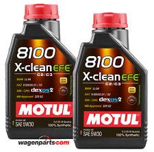 Aceite Motor Motul 8100 X-Clean EFE 5W30 ACEA C2 / C3, 2 Litro BMW Mercedes Opel