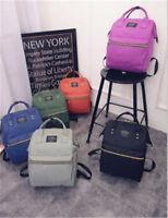 Women Men Backpack, Canvas School Bag, Travel Bag for Outdoor Camping Traveling