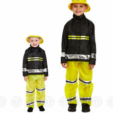 Toddler Boy Fireman Fancy Dress up Party Costume Age 3 World Book Day