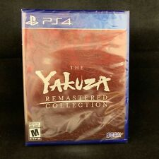 The Yakuza Remastered Collection Standard Edition (PS4) BRAND NEW