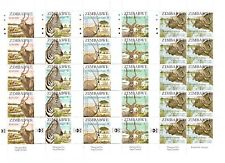 ZIMBABWE 2007 SAPOA SECOND JOINT FULL SET IN SHEETLETS SG1244 TO 1248