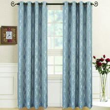 Graceful Regalia Abstract Grommet Curtain Panels (pair)