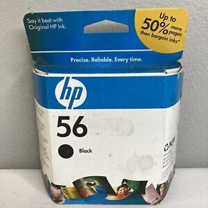 HP 56 Black Ink Cartridge Expired New Sealed Original
