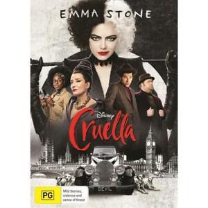 Cruella (Dvd,2021) *NEW* Region 4