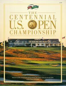 1995 U.S. Open Championship Golf Tournament Program Shinnecock Hills Corey Pavin