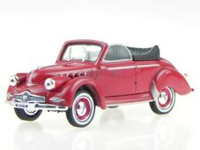 Panhard Dyna X Cabriolet rot 1951 Modellauto 451803 Norev 1:43