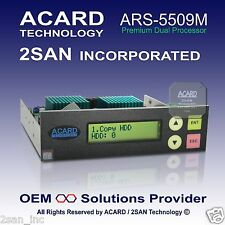 ACARD ARS-5509M 1-to-9 SATA HDD/SSD/DOM Duplicator Controller (60MB/Sec)