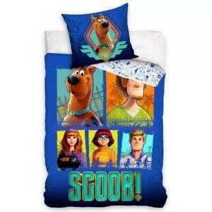 Scooby Doo Crew Single Bedding Set - European Size - Children's Duvet Cover Set