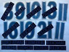 KIT-NUMERI ufficiali AWAY BAYERN FC 1999-2001 NAMESET-NOS official REPLICA SZ