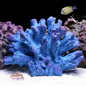 Artificial Coral Reef Aquarium Ornament DIY Landscaping Fish Tank Art Home Decor
