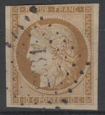 """FRANCE STAMP TIMBRE N° 1 """" CERES 10c BISTRE-JAUNE """" OBLITERE A VOIR N559"""