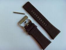 Diesel original LW pulsera de cuero dz1309 uhrband marrón 30 mm watch Strap