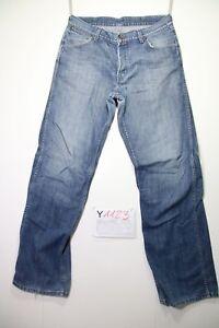 Wrangler Grant Antiform (Cod.Y1123) Tg.47 W33 L36 Jeans Utilisé Vintage Cargo